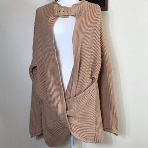 Stella McCartney Buckle Sweater (nude) 40IT